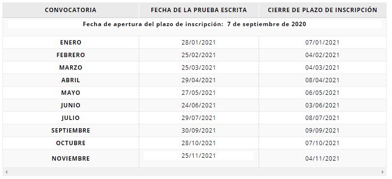 examen para obtener la nacionalidad española