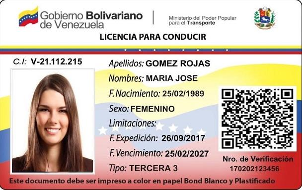 permiso conducir venezuela en España